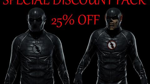 Zoom & Black Flash pack