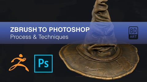 ZBrush to Photoshop PDF Guide