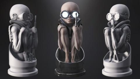 Baby Bullet Model for 3d print