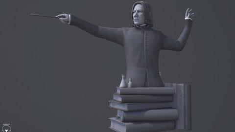 Severus Snape Statue