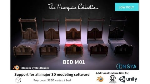 Bed M01 - The Marquis Collection
