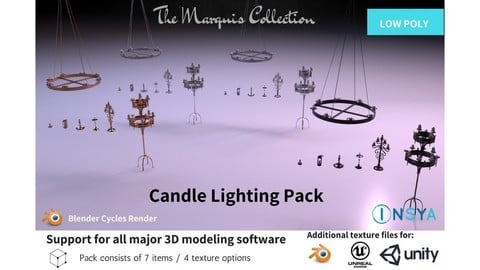Candle Lighting Pack - The Marquis Collection