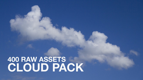400+ RAW Cloud Pack