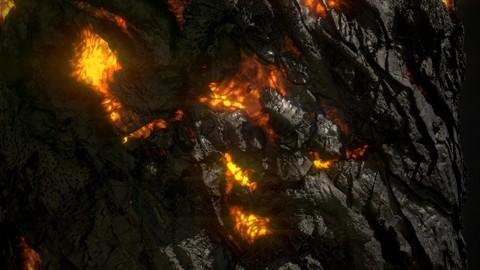 Volcanic Rock .sbs .sbsar