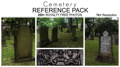 Reference Pack - Cemetery Reference Pack - 200+ Royalty Free Photos