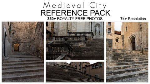 Reference City - Medieval City - 350+ Royalty Free Photos