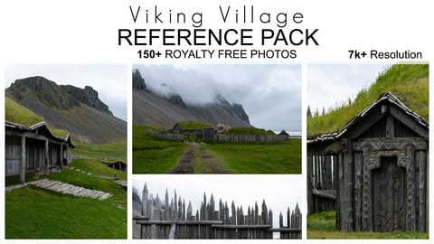 Reference Pack - Viking Village - 150+ Royalty Free Photos