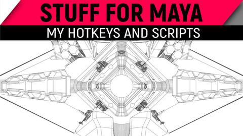 Maya Hotkeys and Scripts