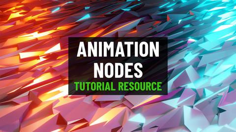 Animation Nodes Demos (Tutorial Resource)
