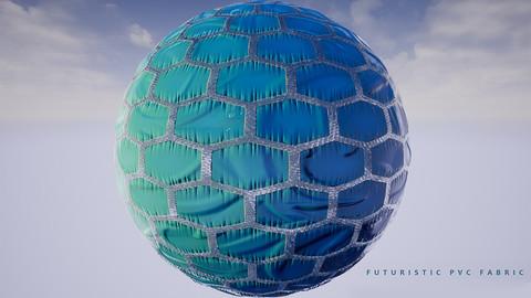 FUTURISTIC PVC FABRIC
