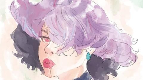CLIP STUDIO PAINT | Watercolor BRUSH