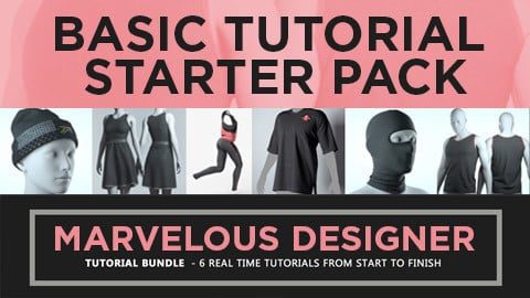 Marvelous Designer - Tutorial STARTER PACK
