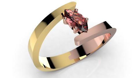 Women Ring - CAD-06 3D print model