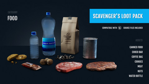 Scavenger's Loot Pack - Food