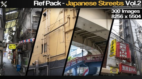 Ref Pack - Japanese Streets Vol.2