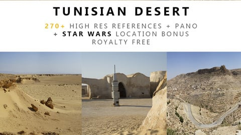 Tunisian Desert Texture Pack