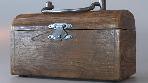 Wooden little chest