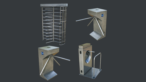 Inteligent Security Gates Pack