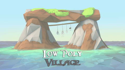 Low Poly Village