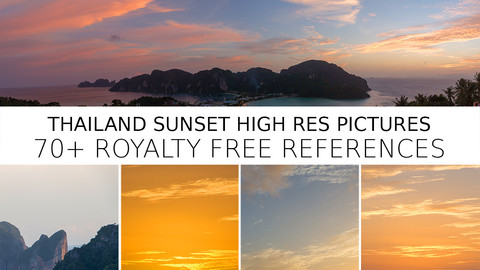 Koh Phi Phi Sunset Reference Pack