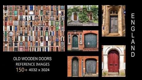 150+ Reference Images: Old Wooden Doors