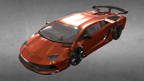 Lamborghini Aventador PBR