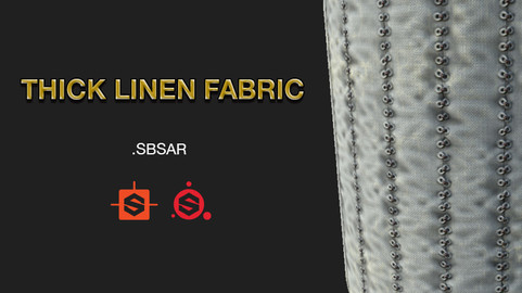 LINEN FABRIC THICK