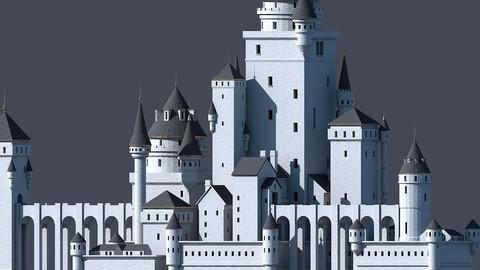 Fantasy Castle 001