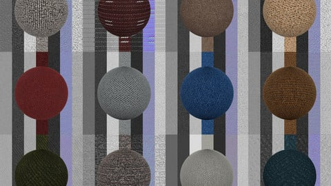 Carpets Vol 01 - Texture Maps - PBR