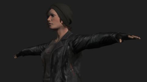 Game-Ready Female Apocalyptic Survivor