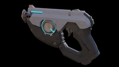 Sci-fi Blaster Gun