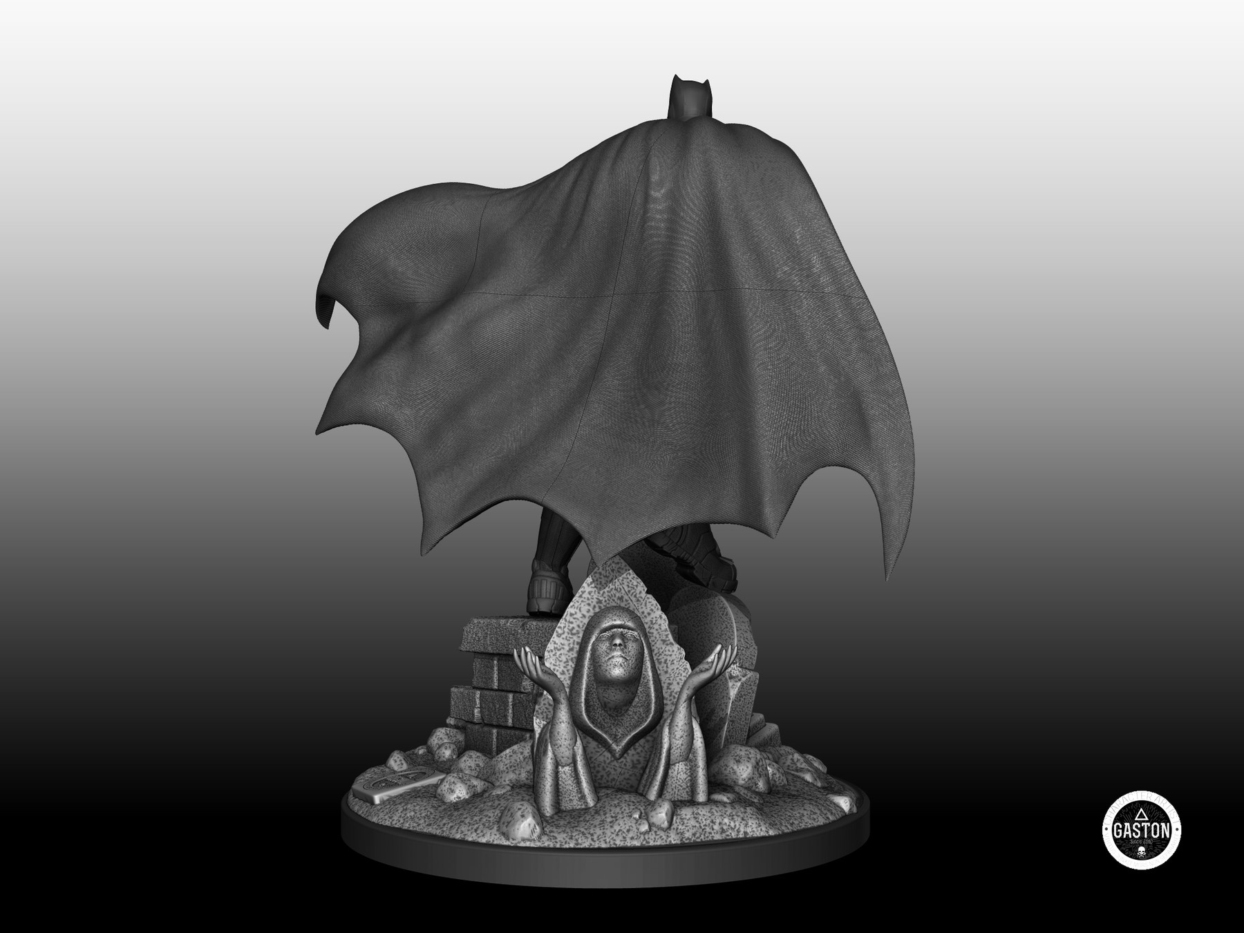 Rogerio Gomes - Batman Fanart - 3D Print Ready