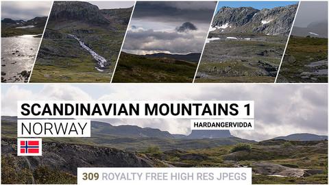 Scandinavian Mountains 1   Matte Painting / reference / photobash pack