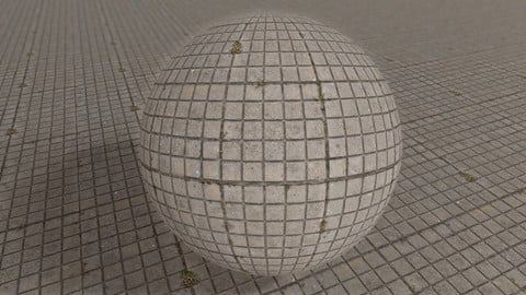 001 Cube Tile - Photogrammetry based Environment Texture