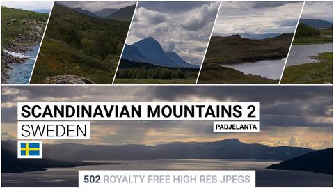 Scandinavian Mountains 2   Matte Painting / reference / photobash pack