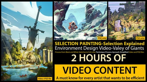 Painting using selection-The Great Sword