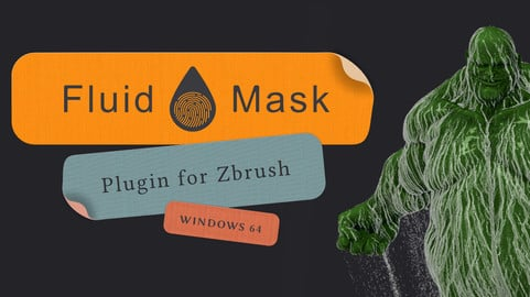 Fluid Mask - ZBrush 2019 Plugin (Win x64)