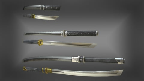 Modern Blades Pack, Japanese Edition