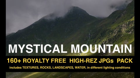 Mystical Mountain photo pack