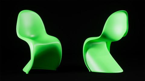 [UE4] Plastic Chair model
