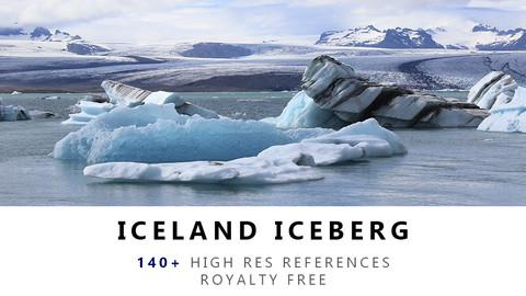 ICELAND ICEBERG Texture Pack