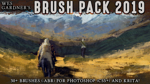 Wes Gardner's Brush Pack 2019