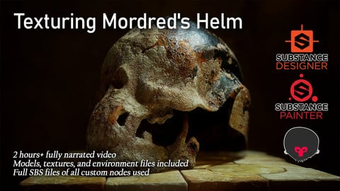 Texturing Mordred's Helm