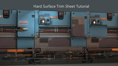 Hard Surface Trim Sheet Tutorial