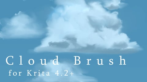 Cloud Brush for Krita