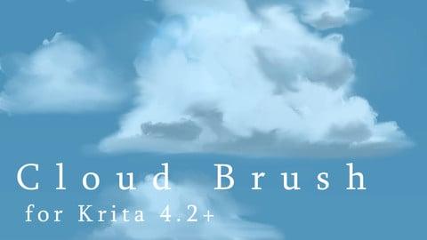 Cloud Brush for Krita
