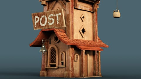 Post office - Substance Painter