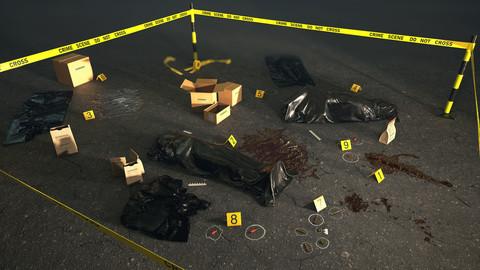 Crime Scene Assets