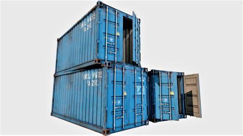 Enterable Shipping Containers - PBR