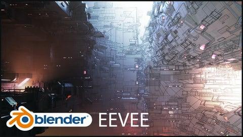 [BLENDER 2.80 - EEVEE] SciFi scene